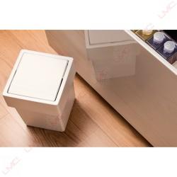 LMC - Poubelle de salle de bain basculante 8 l