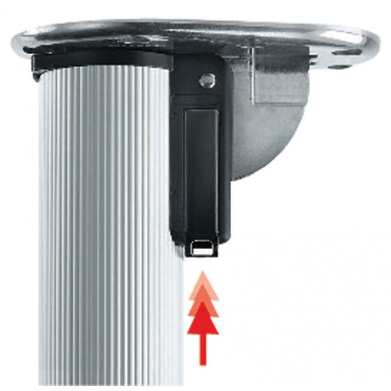 pied de table click rabattable 705 mm diametre 50 camar. Black Bedroom Furniture Sets. Home Design Ideas