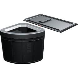 Poubelle tri des déchets 1 bac volume 40L STORTER SOLO de FRANKE