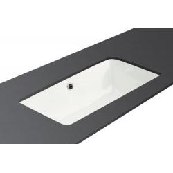 Vasque à poser sous plan en céramique blanc modèle ASIS
