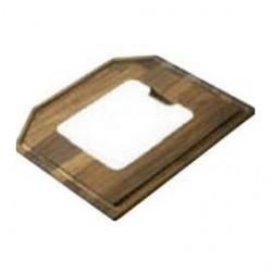 Planche à découper x 2 en bambou et 1 petite en synthèse de luisina
