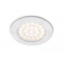 Spot LED 1,6W à encastrer coloris blanc