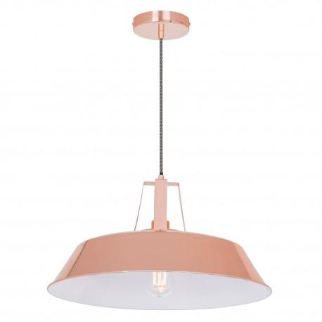 Suspension lampe Workshop métalisée