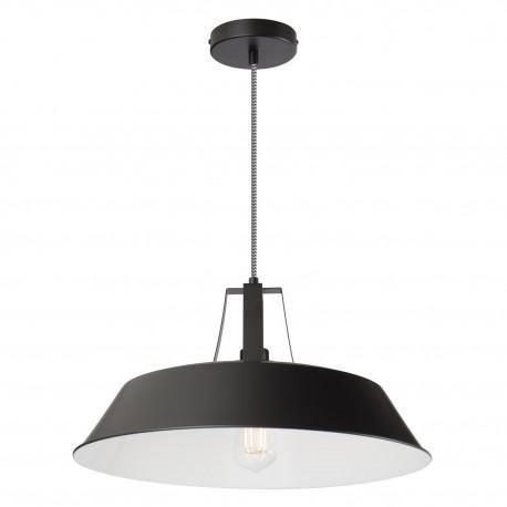 Suspension lampe Workshop acier