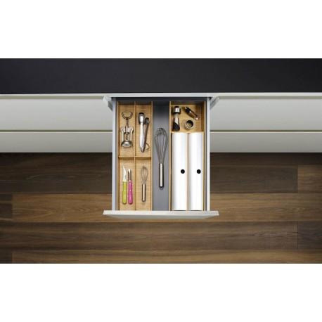 Range-couverts en bois réglable 450 - 500 mm / 600 mm