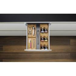 Range-couverts porte-épices en bois réglable 450 - 500 mm / 600 mm