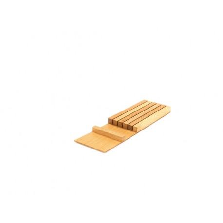 Bloc couteaux en bois pour tiroir Modulo