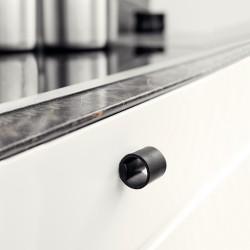 Bouton en cuir pour meuble de cuisine DRUM