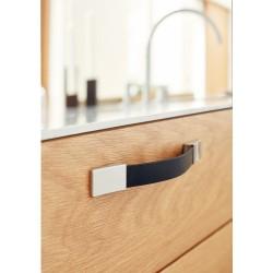 Poignée cuir meuble de salle de bain SAFARI