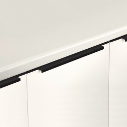 Poignée contemporaine pour meuble cuisine - salle de bain - dressing