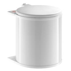 Poubelle tri des déchets ouverture manuelle coulissante monobac 15L