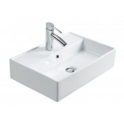 Vasque à poser Cursa en céramique - 500 x 350 mm de Luisina