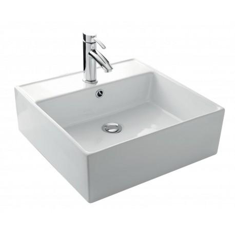 Vasque à poser Mina en céramique - 475 x 470 mm