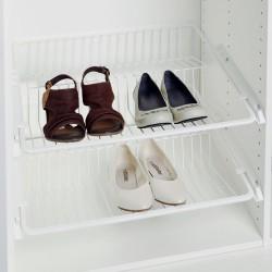 Panier fil grillagé coulisssant chaussures - Hailo (Livraison gratuite)