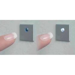 Interrupteurs X 2 lumière à effleurement + boitier de luisina