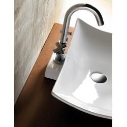 Vasque à poser Magdalena en porcelaine - 570 x 320 mm de Luisina