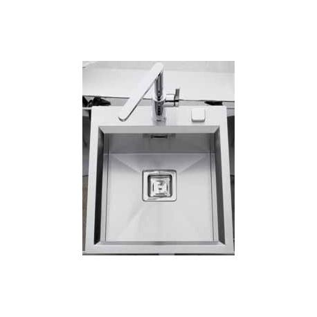 LUISINA - CUVE A ENCASTRER 450X500 VID AUTOMATIQUE INOX LISSE